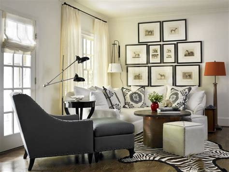 Black And White Chair And Ottoman Design Ideas 45 Contemporary Living Rooms With Sectional Sofas Pictures