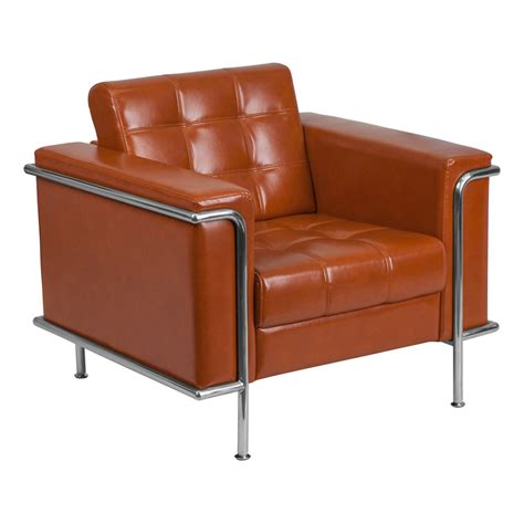 leathersoft upholstery modern lounge chairs lisa cognac chair eurway