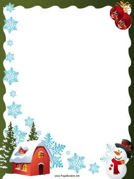 Tony Get Cozy South Of The Border by This Free Festive Printable Border Is