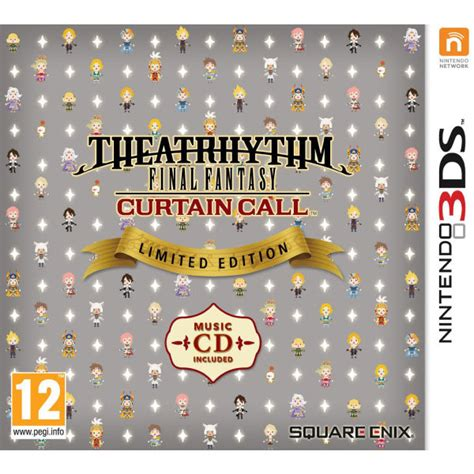 ff theatrhythm curtain call theatrhythm final fantasy curtain call limited edition