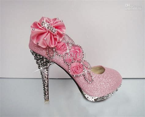 pink wedding shoes with regard to wish preowned wedding