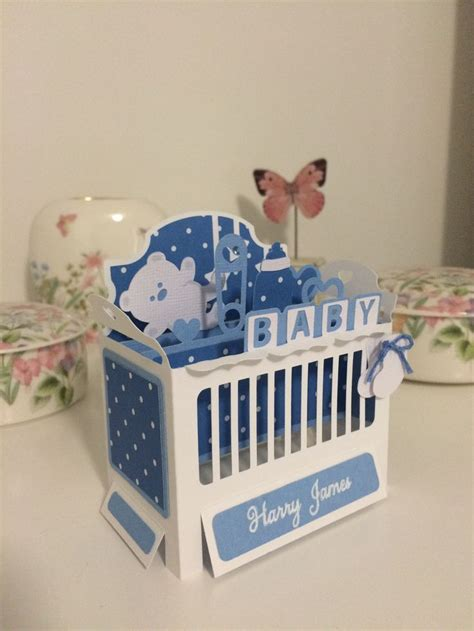 Pop Up Crib Card Template by 17 Best Images About Cricut 3d Pop Up Box Card