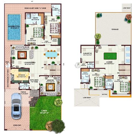 1 house plans pakistan 1 kanal house plans l 8df000ab22e8c1e5 jpg 1000