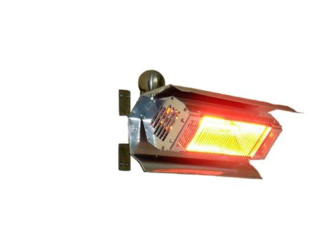 Mojave Sun Patio Heater Sense 02110 Stainless Steel Mojave Sun Stainless Steel Wall Mounted Infrared Patio Heater