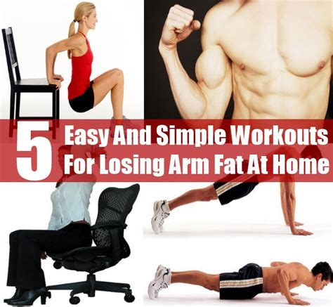 5 easy and simple workouts for losing arm at home