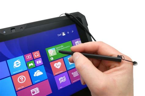 dell latitude  rugged tablet screen stylus  camera review trusted reviews