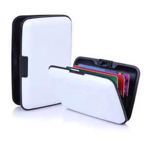 waterproof business card holder waterproof business id credit card wallet holder aluminum