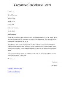 Letter Message General Resume 187 Format Of Condolence Letter Cover Letter And Resume Sles