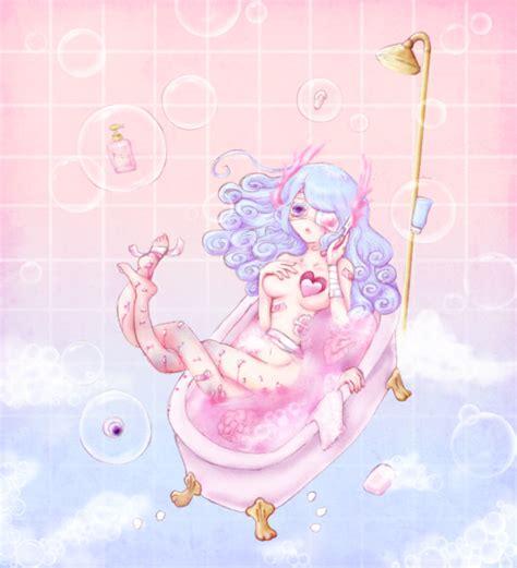 bathtub mermaid bathtub mermaid みつなだ けい さんのイラスト ニコニコ静画 イラスト