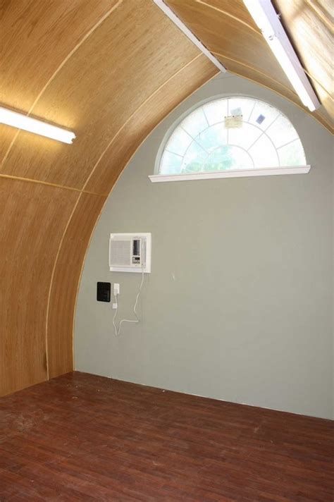 arched cabins interior build an arched cabin for 4 000 home design