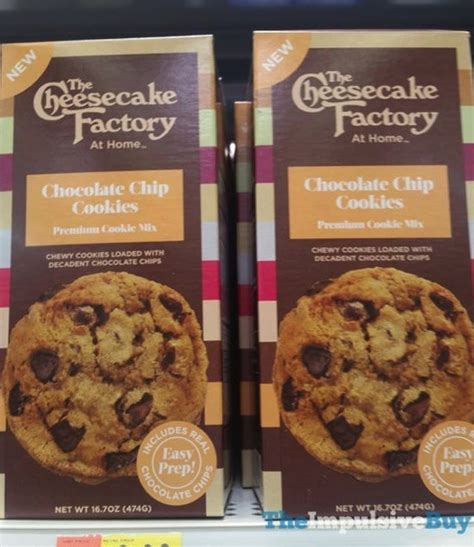 Chocolate Chip Premium Cookies Hobite spotted on shelves the cheesecake factory at home premium