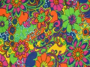 New years sale pop art pandemonium vintage 60s 70s fabric yardage