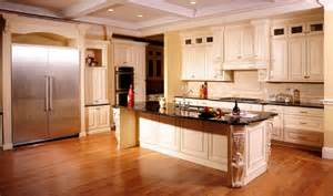 Antique Cream Kitchen Cabinets by Antique Cream Kitchen Cabinets With Absolute Black