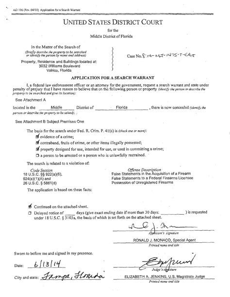 Warrant Search By Name Williams Search Warrant By Wfla Newschannel8 Issuu