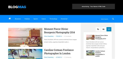 attractive templates for blogger free beautiful attractive web website blog design