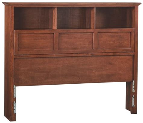 Bookcase Headboard Whittier Wood Bookcase Headboard Free Shipping