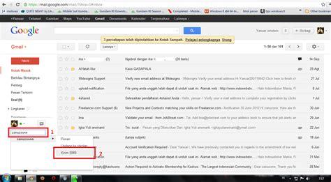cara membuat akun gmail lewat sms bst zone cara kirim pesan sms lewat google gmail