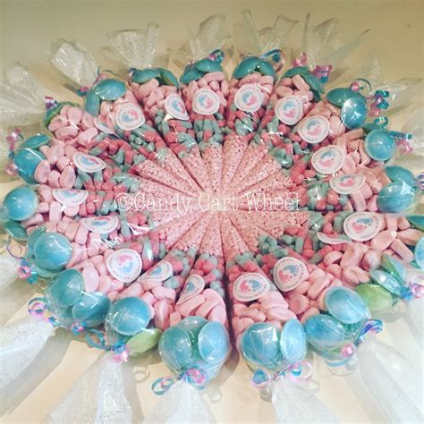 Sweet Baby Shower by Sweet Trees Wedding Favours Cart Wheel