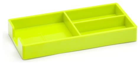 Bits And Bobs Tray Lime Green Modern Desk Accessories Lime Green Desk Accessories