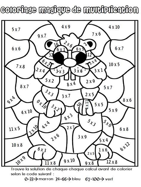 19 Dessins De Coloriage Magique Cm2 224 Imprimer