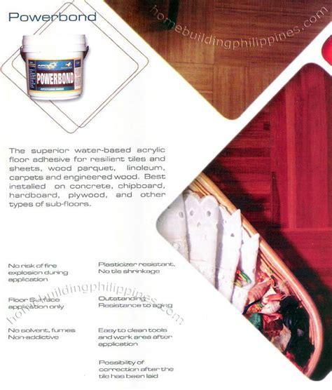 APO Powerbond Floor Adhesive Philippines