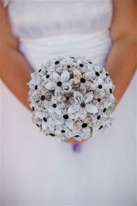 Make Paper Flower Bouquet - diy paper wedding flowers mid south