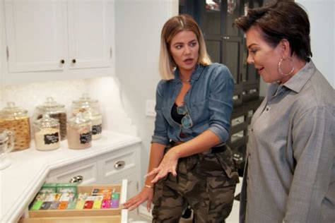 khlo 233 kardashian s house is just as glamorous as she is khloe kardashian shared her quot khlo c d quot pantry and we feel