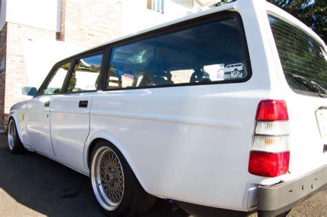 volvo  wagon spd turbo horsepwer slammed coilovers