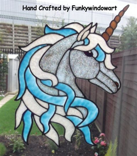 unicorn mosaic pattern 17 beste afbeeldingen over myth unicorn stained glass op