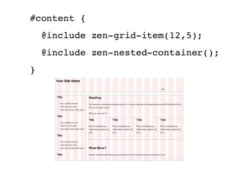 zen layout drupal responsive design in drupal with zen and zen grids