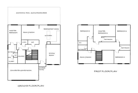 my villa in florida floor plan