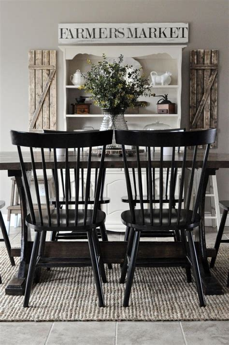 Black Dining Room Furniture Decorating Ideas Black Dining Room Chairs 52 On Home Design Ideas