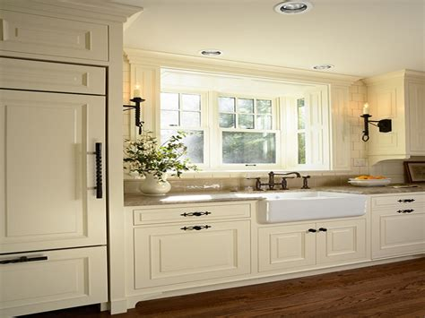 colored kitchen cabinets antique white kitchen