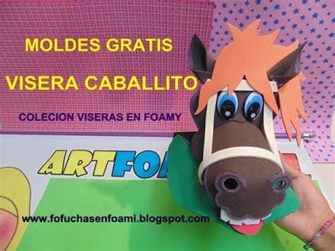caballo de goma eva apexwallpapers com visera caballito en foamy con moldes para fiestas