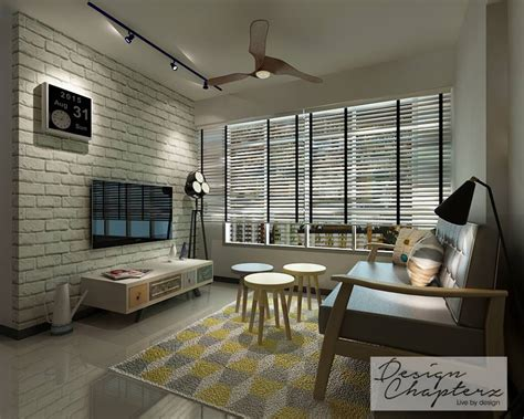 Scandinavian Home Interiors by Hdb Bto 4 Room Scandinavian At Blk 256d Sumang Walk