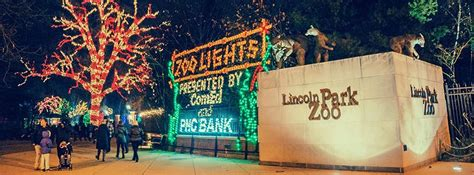 lincoln park zoolights 2017 in chicago il everfest