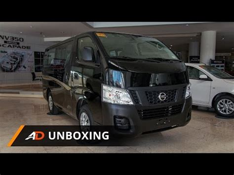 nissan urvan escapade modified nv350 videolike