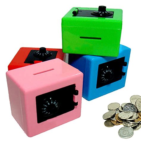 Coin Saving Box safe bank combination lock coin saving box money box