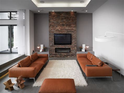 Living Room Brick Tiles Brick Nepal Transitional Living Room New York By