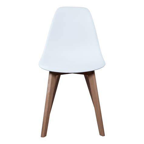 chaise scandinave coque polypropyl 232 ne