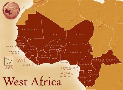 map of west africa maps west civilization in the era
