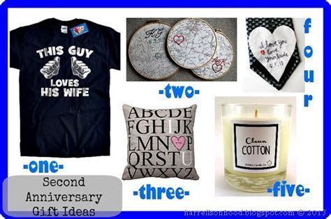 etsy finds for traditional second anniversary gift ideas
