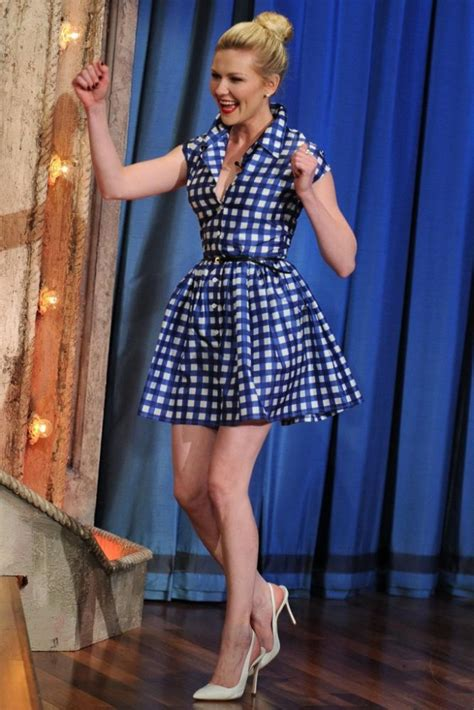 Get Kirsten Dunsts Miu Miu Look by The Fab List 13 Times Were Spotted In Gingham