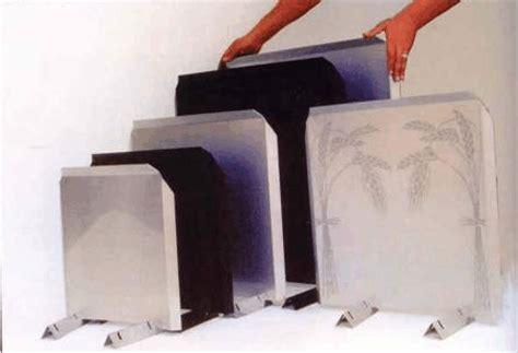 the fireback heat reflector shield chimney keepers