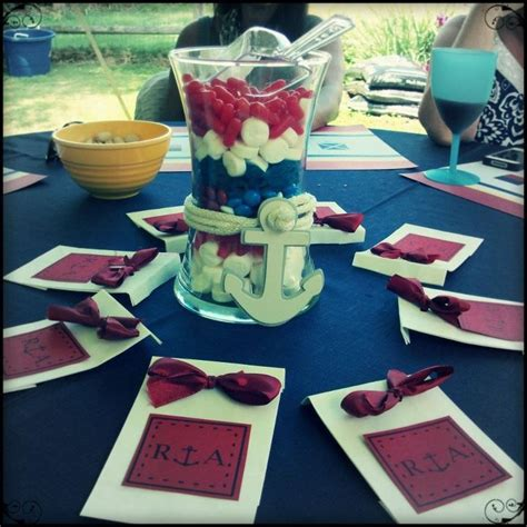 Sailboat Centerpieces Nautical Theme - 1000 images about bridal shower on pinterest