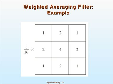 applying weighted average filter tutorial 06 spatial filtering dip