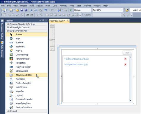 xaml dynamic layout attachmenteditor class