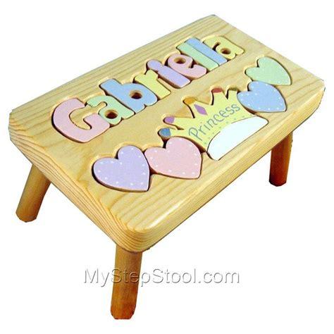Name Puzzle Step Stool by 35 Best Images About Puzzle Step Stools On