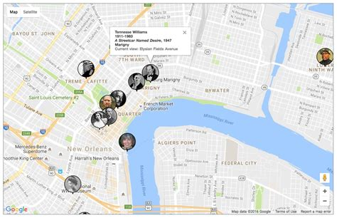 map of new orleans projects booma the bookmapping project