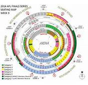 MCG Seating Map Submited Images